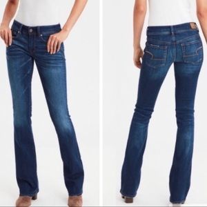 American eagle kick boot jeans size 14 long